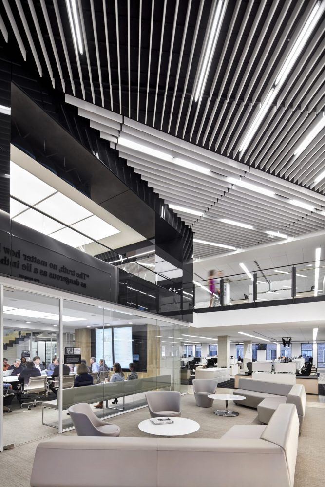 Picture of Washington Post workplace