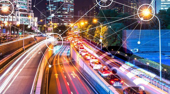 image of a smart motorway