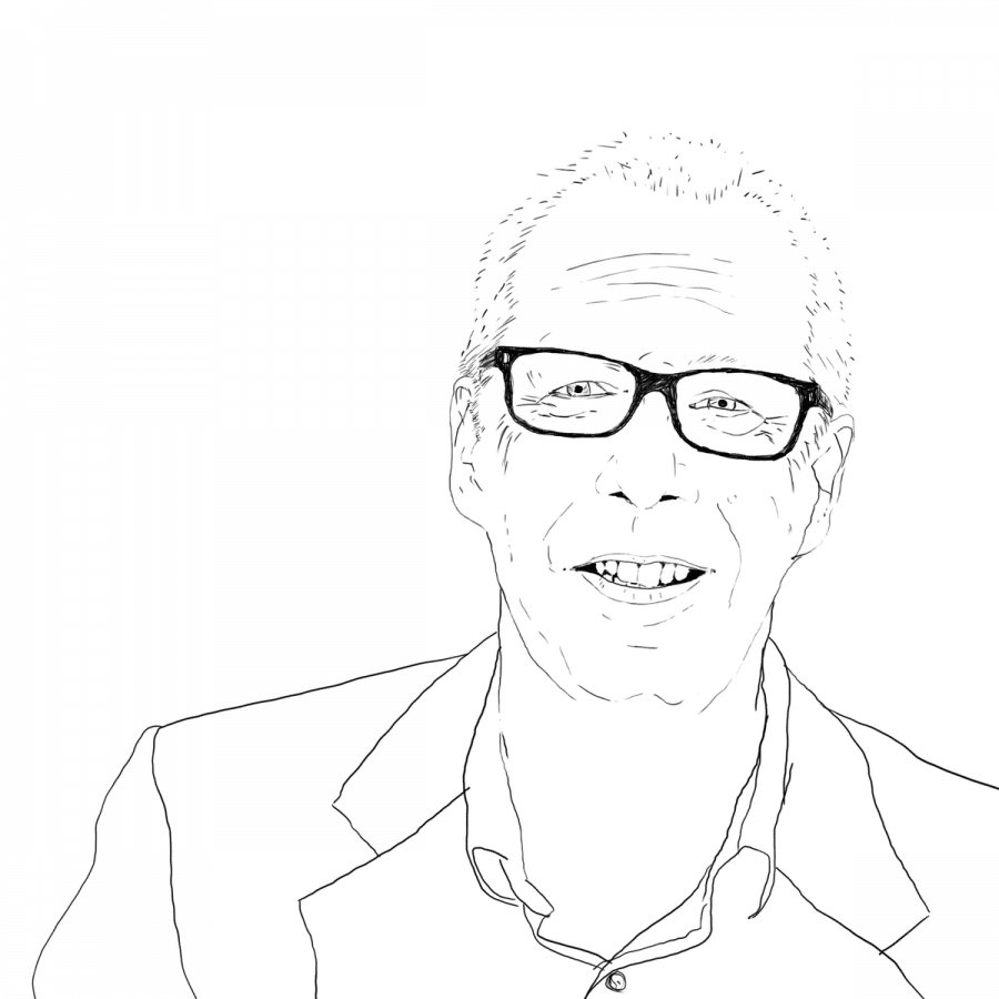 illustration of Jeremy Myerson from Worktech